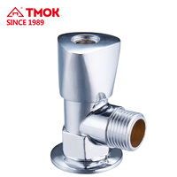 TMOK china supplier ball structure forged male thread brass angle valve with nice quality and good price