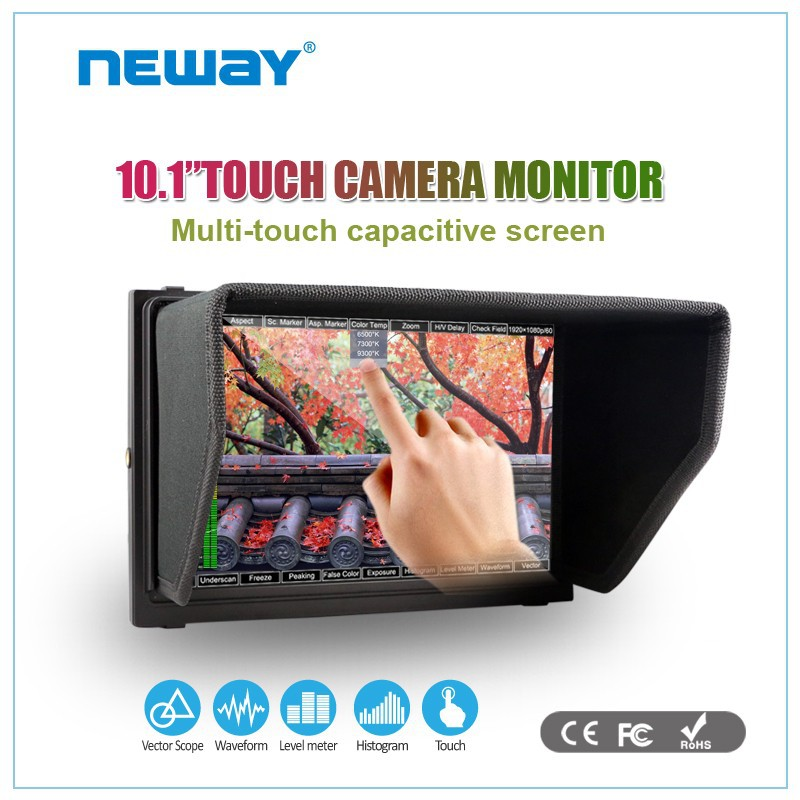 10.1 inch DSLR capacitive screen IPS Lilliput field monitor