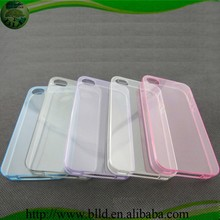 Crystal Clear Transparent Soft 0.3m TPU Cover Case For Ip5s