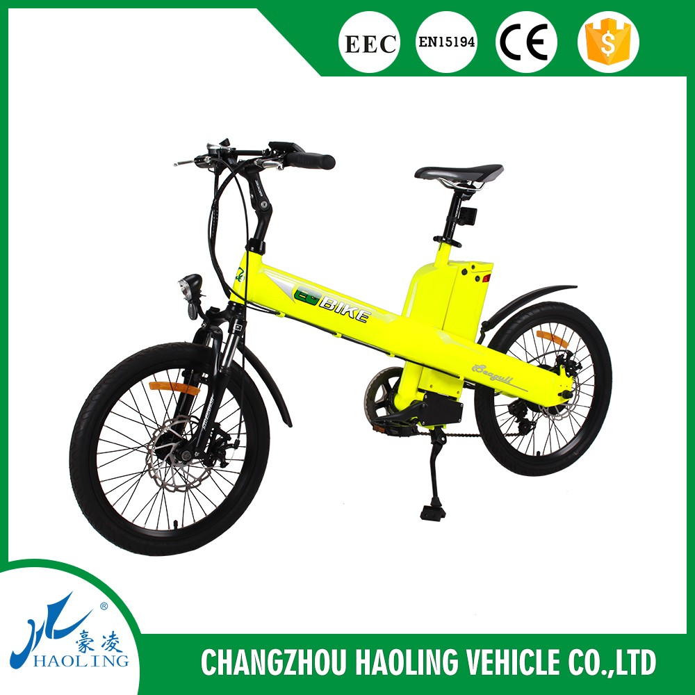 Seagull 20inch 36v cheap adult electric bike with lithium ion battery for sports