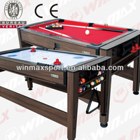 7ft airhockey / pool Combination Table ,Mulit Game Biliards/foosball Table