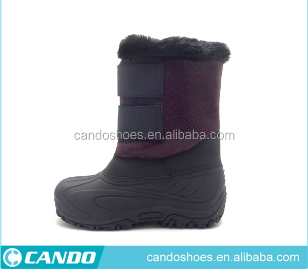 Children warmly Magic Band snow boots half snow boots snow boot for winter