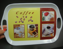 Eco-friendly Hot seller Melamine material Serving trays