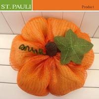 30.5x20.3cm Low price hoiliday decoration fabric craft pumpkins