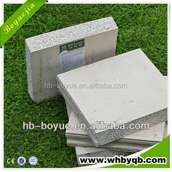 cement wall panel customized Prefab Homes Container Houses/eps cement sandwich wall panel