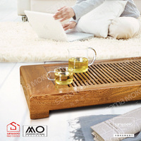 Factory! SAMADOYO High-end Wengue Wooden Tea Tray for sale