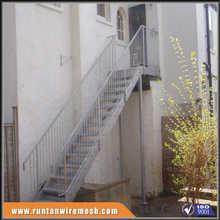 fire escape outdoor iron steel stairs prices
