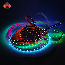 DC5v 14.4w 60leds per meter smd5050 rgb individual color led strip ws2812b