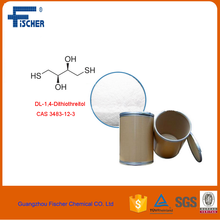 DL-1,4-Dithiothreitol chemical reagents DDT CAS No 3483-12-3