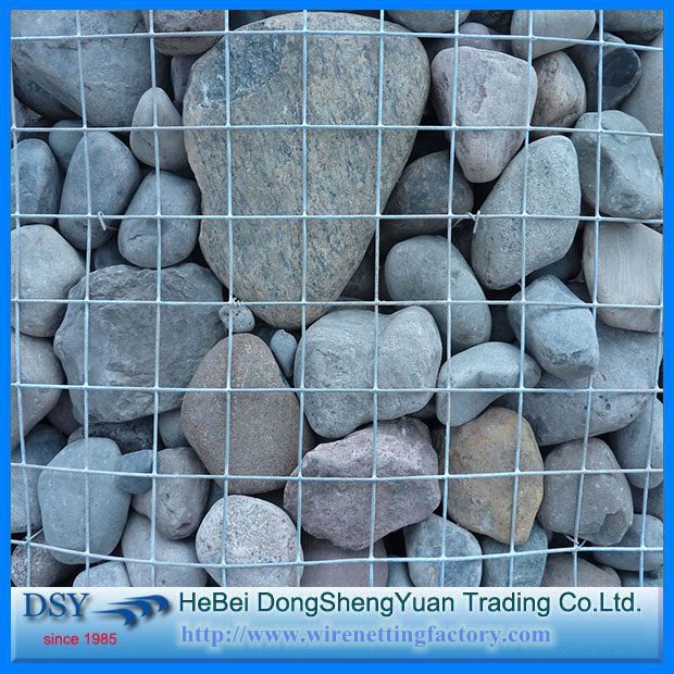 2016 China hot sale welded gabion box / gabion stone basket / welded mesh galvanized wire mesh gabion