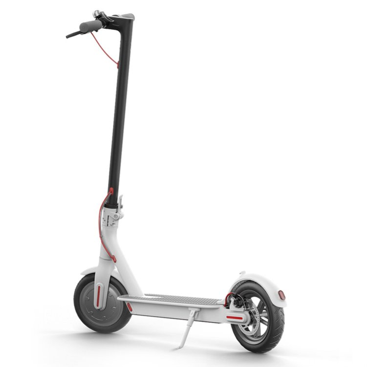 Electric Foldable Scooter with LED Light High Speed Scooter Easy to Carry and Save Place Mini Ebike Aluminum Alloy Motor