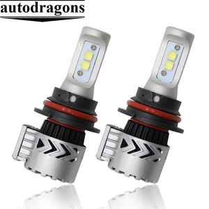 2017 New G8 Waterproof 9007 HB5 CR led headlight 6000lm for Germany Cars
