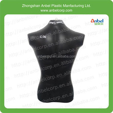 Anbel cheap pvc inflatable male mannequin upper body for sale