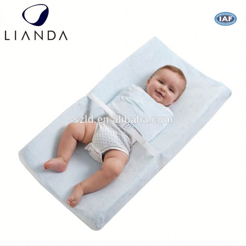 ROHS Certified Non-toxic Customized portable diaper changing pad of high quality