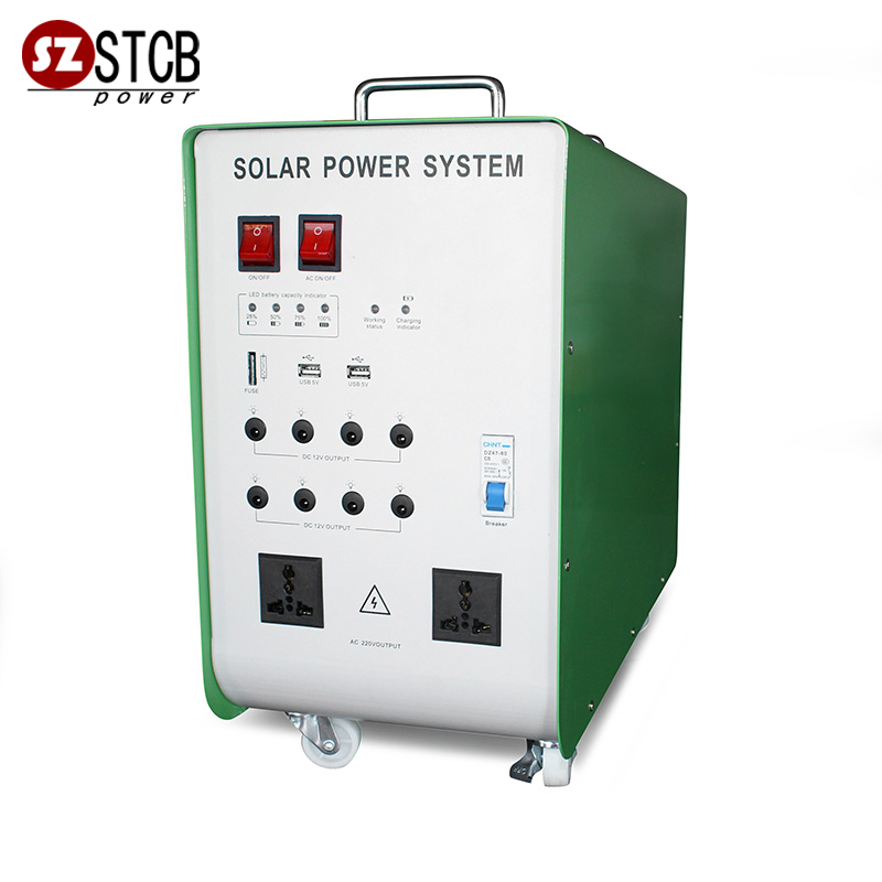 Easy using small solar energy systems 300w 500w 1000w