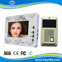 7 Inch TFT IP door entry video phone from China