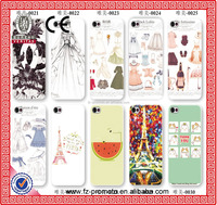 New Creative Crystal Transparent Soft TPU Cell Phone Cover for iPhone Case