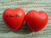 Heart PU form stress ball / hand exercise ball /stress toys