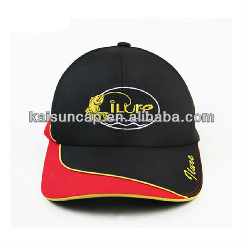 100% cotton race cap with velcro closure and your own logo