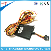 Long distance gps tracker for car/vehicle rental with car charger