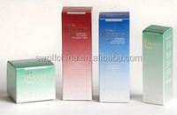 Custom Design Printed Folding Cosmetic Packaging Boxes