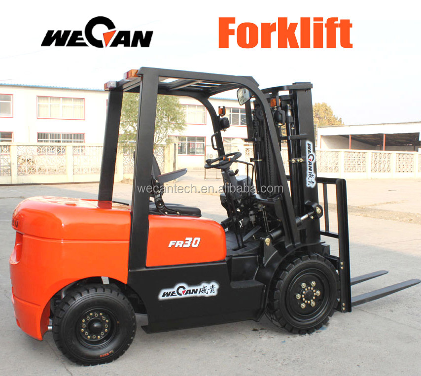Diesel Forklift Trucks Fork Lift with Multi-functional Attachments / Accessaries