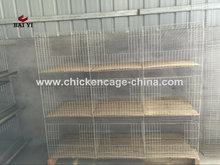 A & H Type Commercial Used Rabbit Industrial Cages For Sale
