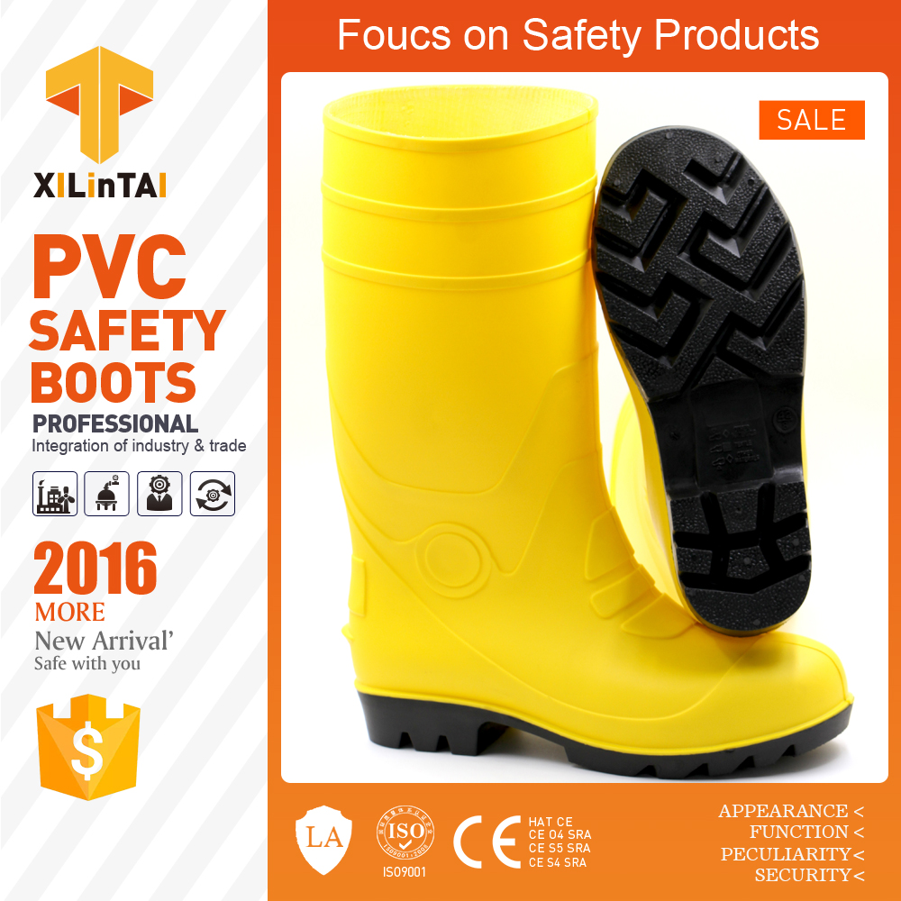 Steel Toe PVC Wellington Working Shoes