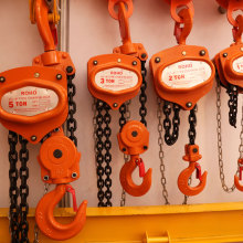 5 Ton Manual Lifting Chain Pulley Block Hoist