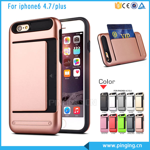 2016 Trending Products For Luxury iPhone Case, Hybrid TPU PC Mobile Covers For Apple iPhone7 iPhone 7 Plus Case