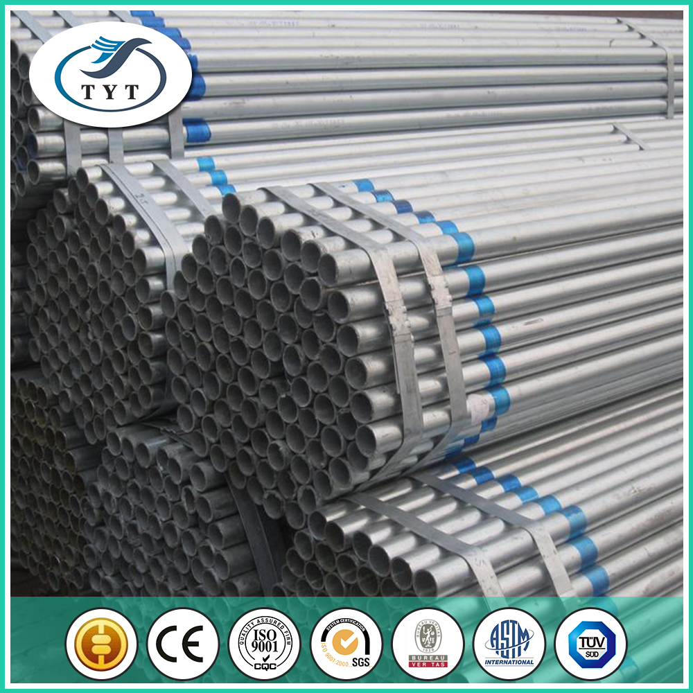 Fast Delivery Wholesale Round Section Shape 50mm Galvanized Erw Steel Pipe