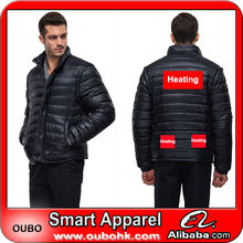 Cold-proof police jacket with high-tech electric heating system battery heated clothing warm OUBOHK