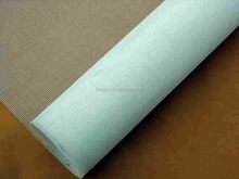 Aluminum window screen covering