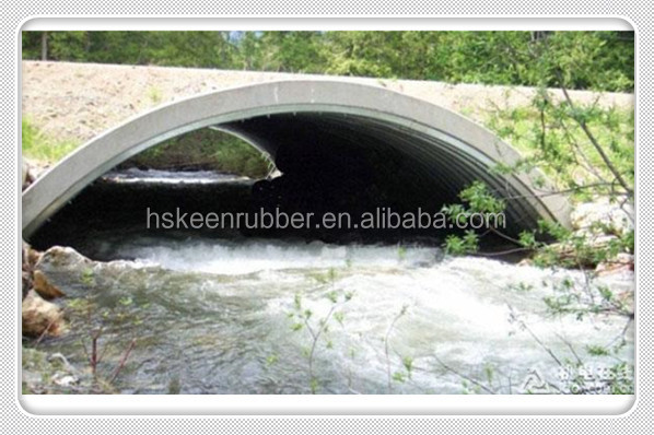 Domed Metalic Corrugated Steel Culvert
