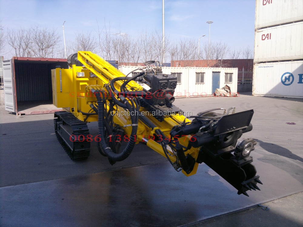 200M Top Drive Crawler Anchor Drilling Rig with Full Hydraulic Power Head JKM458