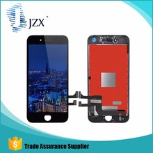 Top quality mobile phone touch screen for iphone 7 plus front glass with flex cable with frame for iphone 5 5s 4