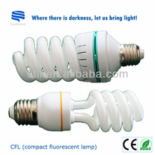 High Lumen Spiral Energy Saving CFL Bulbs
