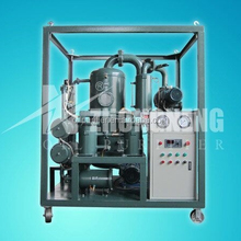Double-stage vacuum Transformer oil purification plant/ Degassing/ Drying