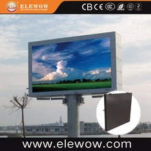 P6.67 outdoor Rohs full color video LED display board for 3D advertising