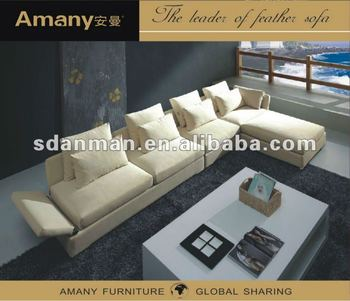 2014Simple style small model fuctional fabric sofa A9658