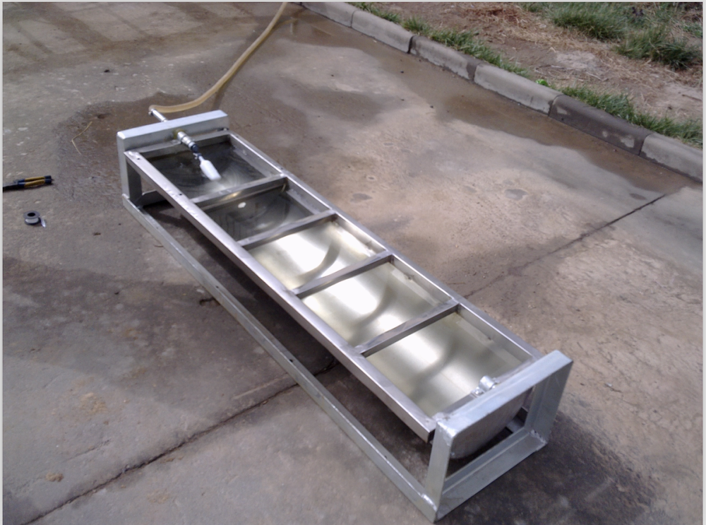 Electric Heating Water Trough For Cattle/stainless steel water trough