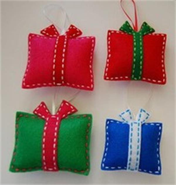 14081811 funny christmas toys diy kids felt crafts for Felt christmas crafts for kids