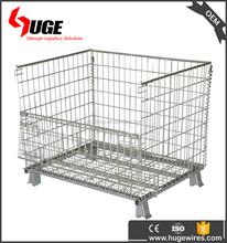Multi Use Welded Wire Mesh Container/cage/box With Galvanized Finished
