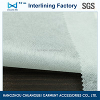 Fusible nonwoven fusing interlining fabric for garment