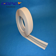 Reinforced 50mm*30m flexible metal corner tape, metal angle tape