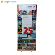 Custom cheap good quality roll up banner size stand for promotion