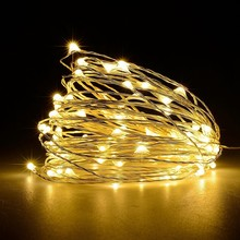 Colorful outdoor furniture decorative low votalge micro holiday mini led light string