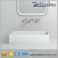 Rectangle Basin, Kitchen washing basin,Beautiful Counter Top Sink BS-8317