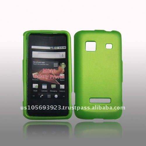 New Rubberized Green case for Samsung Galaxy Prevail M820