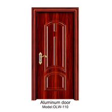 China Stable Structure Main Entrance Exterior Cheap Steel Security Door Design/Aluminum Door
